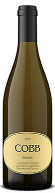 Cobb, Cole Ranch Vineyard Riesling, Mendocino County, Cole