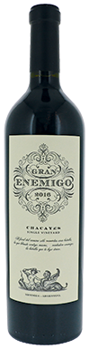 Bodega Aleanna, Gran Enemigo Single Vineyard Chacayes, 2016