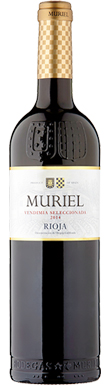 Bodegas Muriel, Tempranillo, Rioja, Northern Spain, 2014