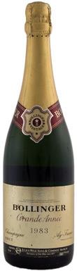 Bollinger, Grande Année, Champagne, France, 1983