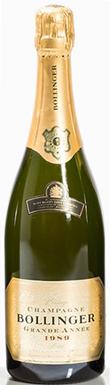 Bollinger, Grande Année, Champagne, France, 1989