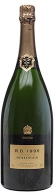 Bollinger, RD (Magnum), Champagne, France, 1996