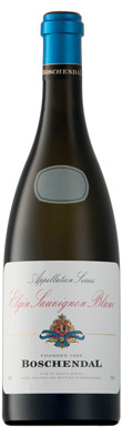 Boschendal, Appelation Series Sauvignon Blanc, Elgin, 2018