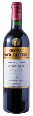 Château Boyd-Cantenac, Margaux, 3ème Cru Classé, 2008