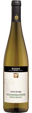 Bozen, Pinot Bianco, Trentino-Alto Adige, Italy, 2016