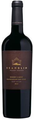Brandlin, Henry's Keep, Napa Valley, California, USA, 2012
