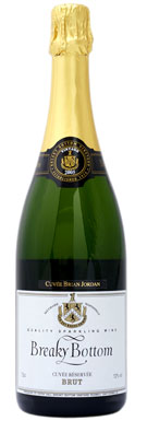 Breaky Bottom, Cuvée Princess Colonna, Sussex, 2008