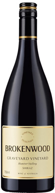 Brokenwood, Graveyard Shiraz, Hunter Valley, 2014