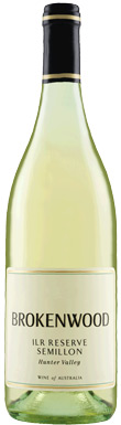 Brokenwood, ILR Reserve Semillon, Hunter Valley, 2011