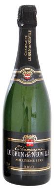 Brun de Neuville, Champagne, France, 1993