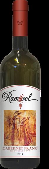 Ramiiisol, Cabernet Franc Classico, Monticello, 2014