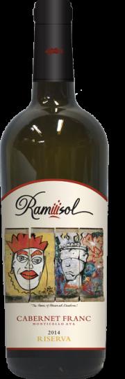 Ramiiisol, Cabernet Franc Riserva, Monticello, 2014
