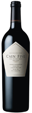 Cain Vineyard & Winery, Spring Mountain, Five, 2012
