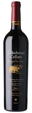 Cakebread Cellars, Dancing Bear Ranch Vineyard Cabernet