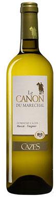 Cazes, Le Canon du Maréchal Blanc, Côtes Catalanes, 2016