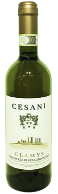 Cesani, Vernaccia di San Gimignano, Clamys, Tuscany, 2015