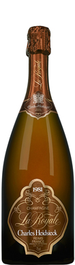 Charles Heidsieck, Royale, Champagne, France, 1981