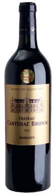 Château Cantenac Brown, Margaux, 3ème Cru Classé, 2012