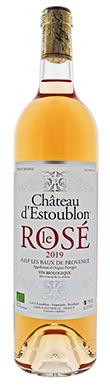 Château d'Estoublon, Le Rosé, Les Baux de Provence, 2019
