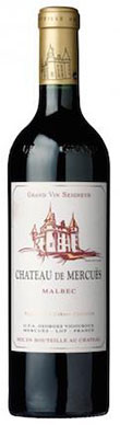 Chateau de Mercues, Grand Vin, Cahors, 2015