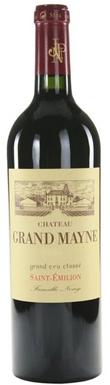 Château Grand Mayne, St-Émilion, Grand Cru Classé, 2017