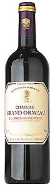 Château Grand Ormeau, Lalande de Pomerol, Bordeaux, 2012