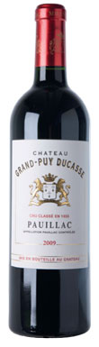 Château Grand-Puy Ducasse, Pauillac, 5ème Cru Classé, 2012