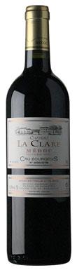 Château La Clare, Haut-Médoc, Cru Bourgeois Supérieur, 2019