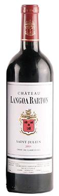Château Langoa Barton, St-Julien, 3ème Cru Classé, 2014