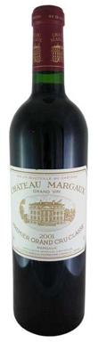 Château Margaux, Margaux, 1er Cru Classé, Bordeaux, 2001