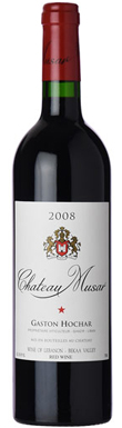 Chateau Musar, Red, Bekaa Valley, Lebanon, 2008