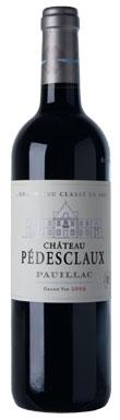 Château Pédesclaux, Pauillac, 5ème Cru Classé, 2012