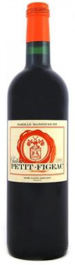 Château Figeac, Petit-Figeac, St-Émilion, Bordeaux, 2015