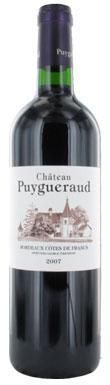Château Puygueraud, Côtes de Bordeaux, Bordeaux, 2012