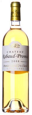 Château Rabaud-Promis, Sauternes, 1er Cru Classé, 2012