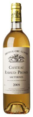 Château Rabaud-Promis, Sauternes, 1er Cru Classé, 2009