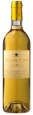 Château Romer, Sauternes, 2ème Cru Classé, Bordeaux, 2013