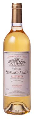 Château Sigalas-Rabaud, Sauternes, 1er Cru Classé, 2012