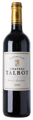 Château Talbot, St-Julien, 4ème Cru Classé, 2009