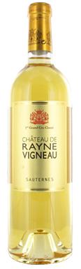 Château de Rayne Vigneau, Sauternes, 1er Cru Classé, 2019