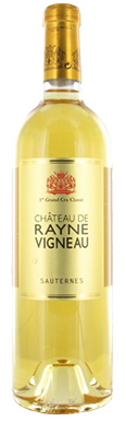 Château de Rayne Vigneau, Sauternes, 1er Cru Classé, 2014