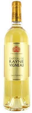 Château de Rayne-Vigneau, Sauternes, 1er Cru Classé, 2020