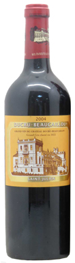 Château Ducru-Beaucaillou, St-Julien, 2ème Cru Classé, 2004