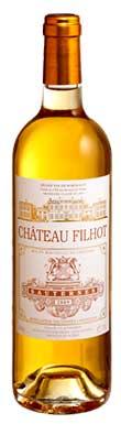 Château Filhot, Sauternes, 2ème Cru Classé, 2017