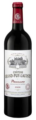 Château Grand-Puy-Lacoste, Pauillac, 5ème Cru Classé, 2006
