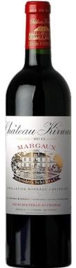 Château Kirwan, Margaux, 3ème Cru Classé, Bordeaux, 2012
