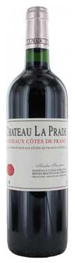 Château La Prade, Francs Côtes de Bordeaux, 2016