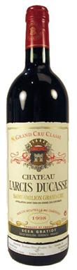 Château Larcis Ducasse, St-Émilion, Grand Cru Classé, 1998