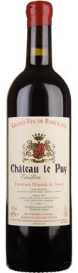 Château le Puy, Francs Côtes de Bordeaux, Emilien, 1986