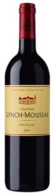 Château Lynch-Moussas, Pauillac, 5ème Cru Classé, 2015